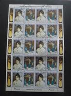 ST THOMAS ET PRINCE N°711 Et 712 X 10 Oblitéré Cote 40€ - Collections (sans Albums)