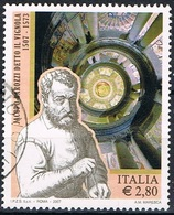 2007 - ITALIA - 500° ANNIVERSARIO DELLA NASCITA DEL VIGNOLA  / 500th ANN. OF THE BIRTH OF IL VIGNOLA. USATO. - 6. 1946-.. Repubblica