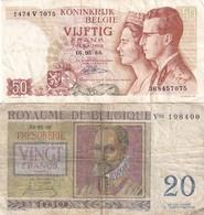 Belg 50 + 20 Fr - Belgio
