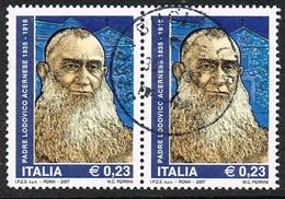 2007 - ITALIA - PADRE LODOVICO ACERNESE / FATHER LODOVICO ACERNESE. USATO. - 6. 1946-.. Repubblica