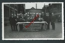 PHOTO Au Profit De Nos Camarades Prisonniers: 1er Octobre 1942 - Hommage à La Direction Des Usines Cuivre Et Zinc. - Belgique