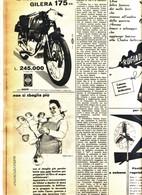 (pagine-pages)PUBBLICITA' GILERA  Tempo1956/27. - Libri, Riviste, Fumetti