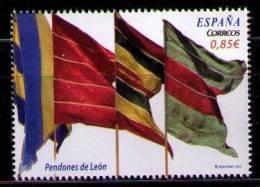 ESPAÑA 2012 - PENDONES BANDERAS DE LEON  - EDIFIL Nº 4728 - YVERT 4409 - 2011-... Nuevos & Fijasellos