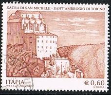 2007 - ITALIA - SACRA DI SAN MICHELE  / SAN MICHELE ABBEY. USATO. - 6. 1946-.. Repubblica