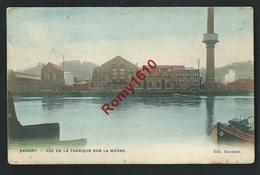 Renory - Vue De La Fabrique Sur La Meuse. Couleur - Liege