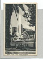 BRINDISI - Piazzacairoli Fontana Monumentale - F/piccolo - Viagg1940 - Brindisi