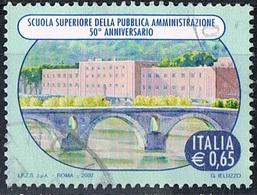 2007 - ITALIA - 50° ANNIVERSARIO SCUOLA PUBBLICA AMMINISTRAZIONE  / ITALIAN SCHOOL. USATO. - 6. 1946-.. Repubblica