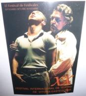 Carte Postale - XX Festival Internacional De Teatro De Vitoria-Gasteiz 1995 - Publicité