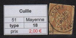 Cuille - Mayenne - Type Sage - Marcofilia (Sellos Separados)