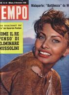 (pagine-pages)SOFIA LOREN  Tempo1956/45. - Libri, Riviste, Fumetti