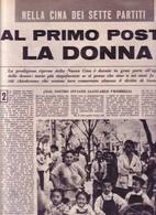 (pagine-pages)CINA  Tempo1956/45. - Libri, Riviste, Fumetti