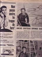(pagine-pages)JEAN COCTEAU  Tempo1956/45. - Libri, Riviste, Fumetti