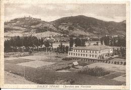 SALICE TERME - CHARITAS CON NAZZANO - VIAGGIATA 1954 - (rif. H45) - Pavia