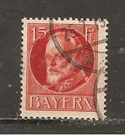 Baviera. Nº Yvert  114 (A) (usado) (o) - Bavaria