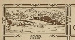 Carte Illustrée Neuve N° 119 - 002   AMDEN  Skigebiet (Zumstein 2009) - Entiers Postaux
