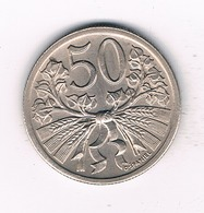 50 HALLER  1924  TSJECHOSLOWAKIJE /2624/ - Tschechoslowakei