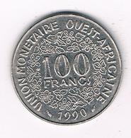 100 FRANCS 1990  AFRIKA -QUEST /2625// - Münzen