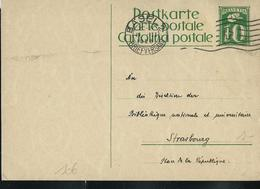 Carte Obl. N° 106  Obl; Basel 1928  (Zumstein 2009) - Entiers Postaux