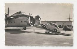 62 CALAIS MARCK - L'aérodrome - Chambre De Commerce - Coccinelle Volkswagen - Embarquement - Animé - Cpsm Pas De Calais - Calais
