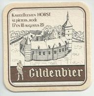 Bierviltje - Gildenbier - Kasteelfeesten HORST - St.Pieters_Rode - 1985 - Sous-bocks