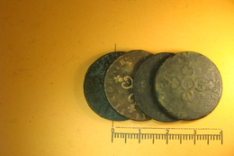 Lot De 6 Deniers De Dardenne (58) - 987-1789 Monnaies Royales