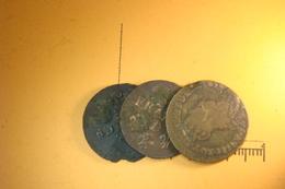 Lot De 3 Liard De France (59) - 987-1789 Monnaies Royales