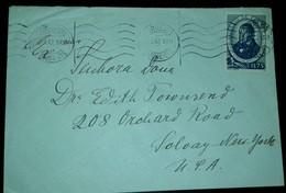 O) 1949 PORTUGAL, BOTANIST-AVELLAR BROTERO SCT 641 1.75e, TO USA - 1910-... Republic