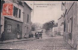 VILLENEUVE LE ROI Rue Saint-Martin (EPICERIE, BUVETTE, Le 28 7 1918) - Villeneuve Le Roi