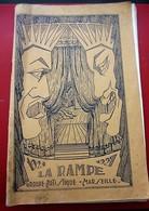 1921/1927 LA RAMPE Groupe Artistique MARSEILLE LOUIS CAYOL Fondateur THÉÂTRE AMATEUR ANCIENS ÉLÈVES DU CONSERVATOIRE - Programas