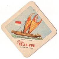 Bierviltje - Gueuze BELLE VUE - Zeilboten - INDONESIA - PH. VAN DEN STOCK - Sous-bocks