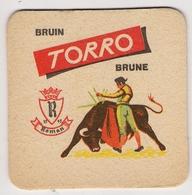Bierviltje - Bruin - TORRO - Brune - Roman - Stier - Sous-bocks