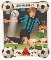 Bierviltje - Apollinaris - CLUB BRUGGE K.V. - 1998 - Sous-bocks
