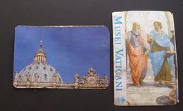 VATICAN 2019, 2 ENTRANCE TICKETS SAINT PETER DOME AND VATICAN MUSEUM - Biglietti D'ingresso