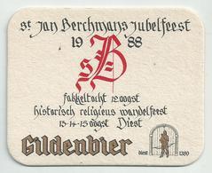 Bierviltje - Gildenbier St.Jan Berchmans Jubelfeest 1988 - Diest - Sous-bocks