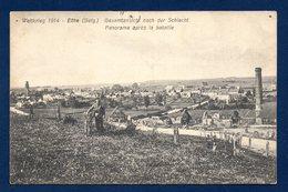 Ethe. (Virton). Weltkrieg 1914. Panorama Après La Bataille. Soldat Allemand à Vélo. - Virton
