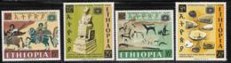 Ethiopia Scott # 488-91 MNH International Tourist Year, 1967 - Ethiopia