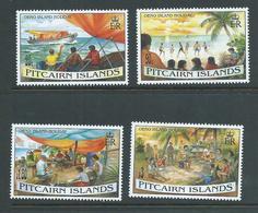 Pitcairn Islands 1995 Oeno Island Holidays Set 4 MNH - Stamps