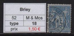 Briey - Meurthe Et Moselle - Type Sage - Marcofilia (Sellos Separados)