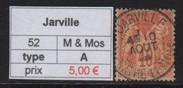 Jarville - Meurthe Et Moselle - Type Sage - Marcofilia (Sellos Separados)