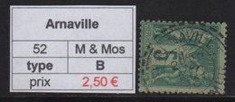 Arnaville - Meurthe Et Moselle - Type Sage - Marcofilia (Sellos Separados)