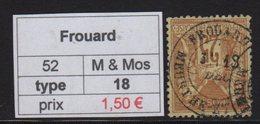 Frouard - Meurthe Et Moselle - Type Sage - Marcofilia (Sellos Separados)