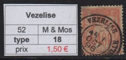 Vezelise - Meurthe Et Moselle - Type Sage - Marcofilia (Sellos Separados)
