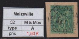 Malzeville - Meurthe Et Moselle - Type Sage - Marcofilia (Sellos Separados)