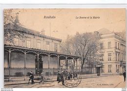 ROUBAIX - La Bourse Et La Mairie - Très Bon état - Roubaix