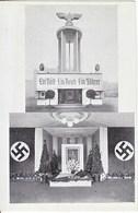 POST CARD  PHOTO  AUSTRIA  LEIPZIG PAVILLON CANCELLED - War 1939-45