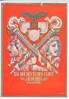Propaganda Card  DAY OF GERMAN ART  USED  1939 - War 1939-45