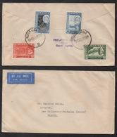 MALAYA - KUALA LUMPUR / 1961 LETTRE AVION POUR LA FRANCE (ref LE2693) - Malayan Postal Union