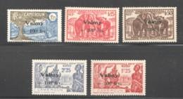 1943 - Série Valmy  Très Légères Traces De Charnières - Cameroun (1915-1959)