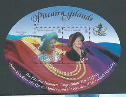 Pitcairn Islands 2000 Queen Mother 100th Birthday Miniature Sheet MNH - Stamps