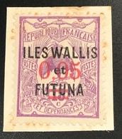1922 Essai De Surcharge Yv. 29 UNIQUE ! Signé Scheller (Iles Wallis Et Futuna Colonies Françaises French Colonies - Neufs